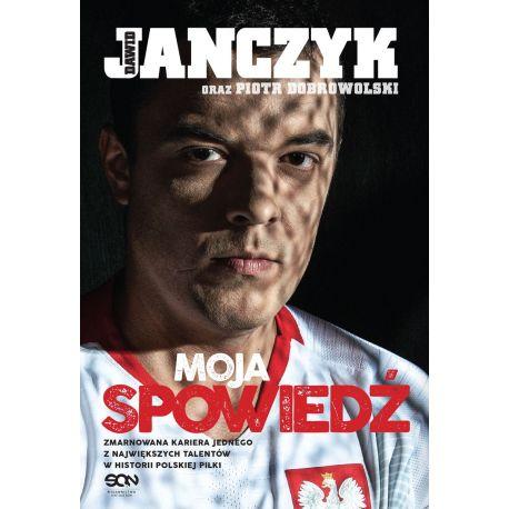 Okładka książki sportowej Dawid Janczyk. Spowiedź