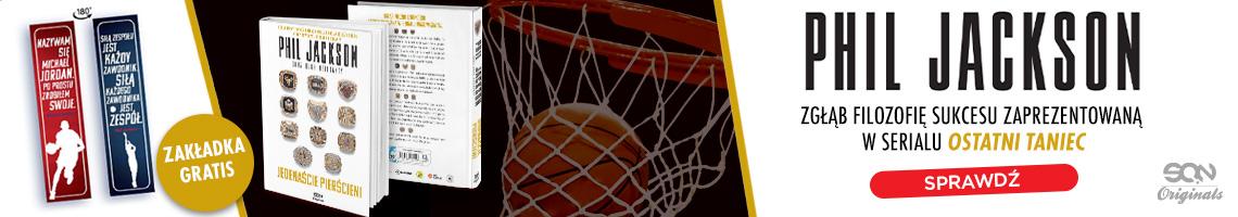 Książka sportowa SQN Originals: Phil Jackson. Wydanie III